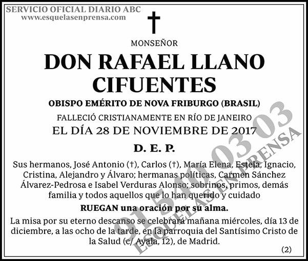 Rafael Llano Cifuentes